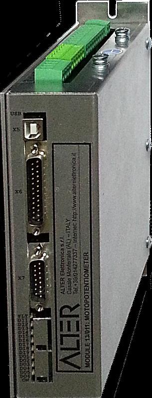 Digital motopotentiometer 13/011