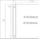 Filtri di rete 23/003 e 23/004
