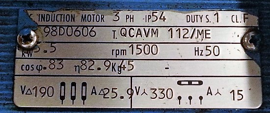 Targa Motore