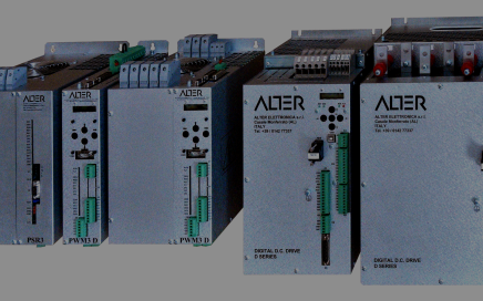 Servo drive range for electric motors d.c. and a.c.